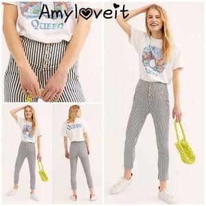 New Free People Frankie High Waist Skinny Pants
